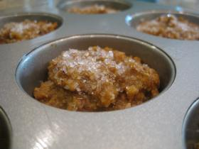 Vegan pumpkin muffin 3