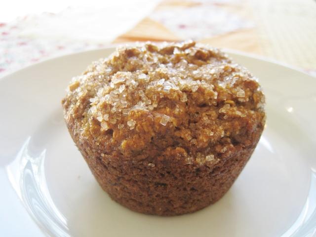 Vegan pumpkin muffin 1